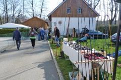 Gutes Wetter herrschte bei 1. Anglerflohmarkt des Further Fischereivereins am Pastritzweg